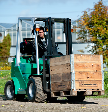 Semi Rough Terrain Forklifts for Growers, Orchards & Events