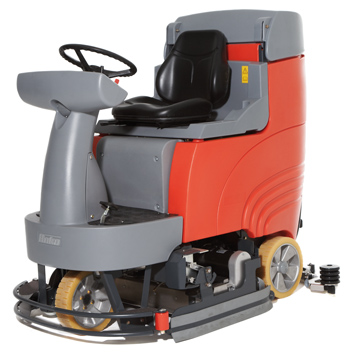 Floor sweepers and scrubber dryers